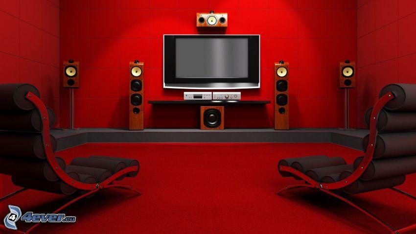 vardagsrum, TV