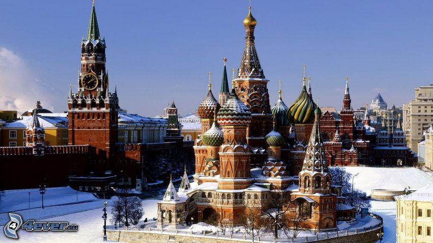 Vasilijkatedralen, Kremlin, Moskva