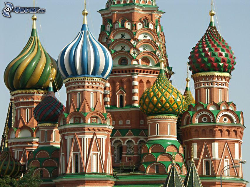 Vasilijkatedralen, Moskva, Ryssland