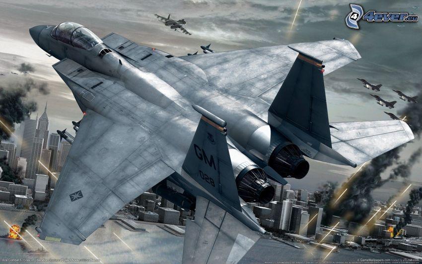 Ace Combat 6, F-15 Eagle