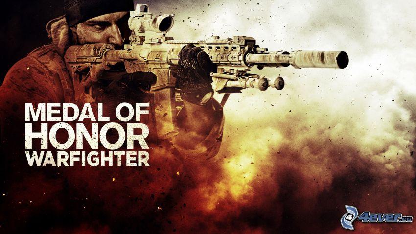 Medal of Honor, man med vapen