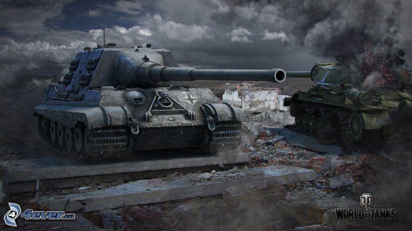 World of Tanks, Jagdtiger, Wehrmacht