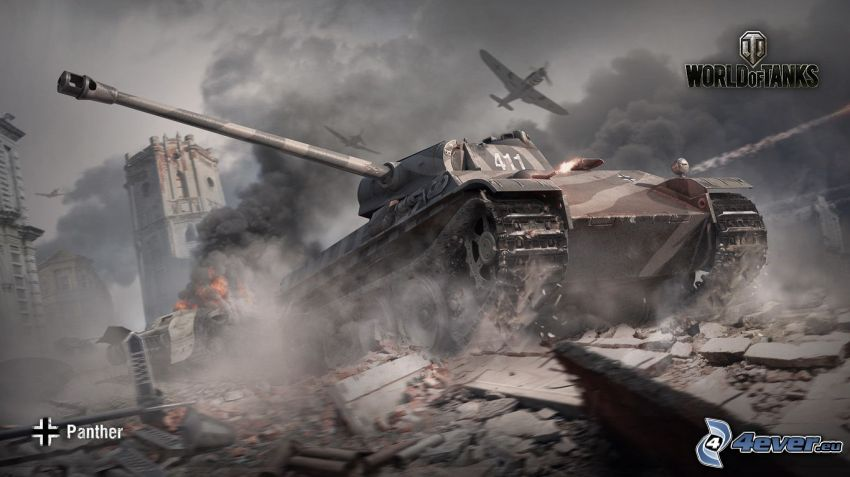 World of Tanks, panther, Wehrmacht