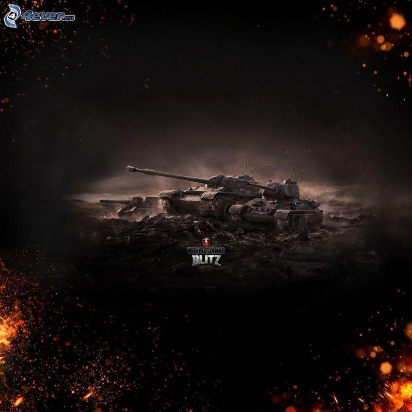 World of Tanks, tankar