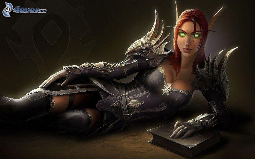 World of Warcraft, fantasy kvinna