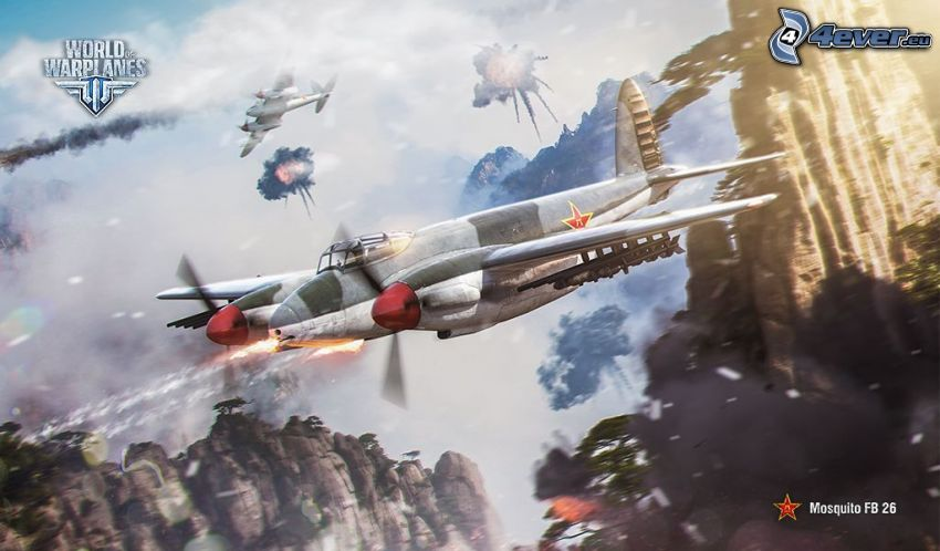 World of warplanes, flygplan, slagsmål