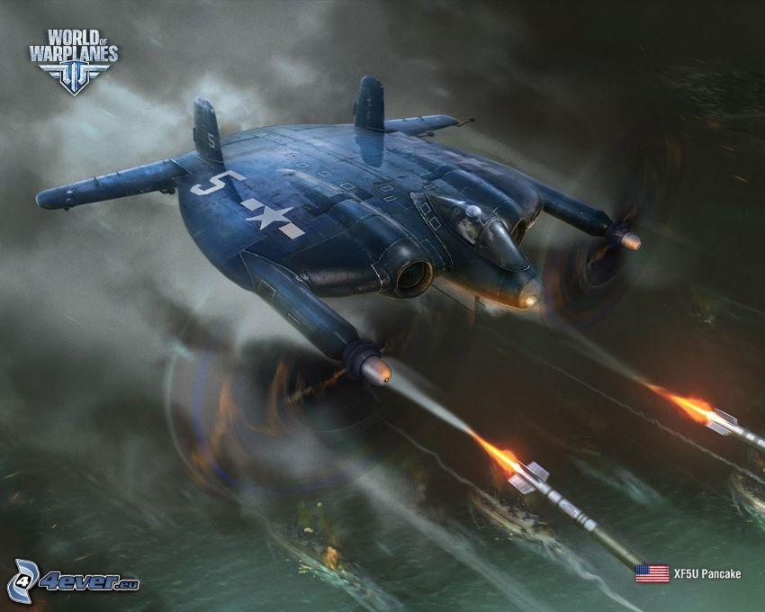 World of warplanes, jaktplan