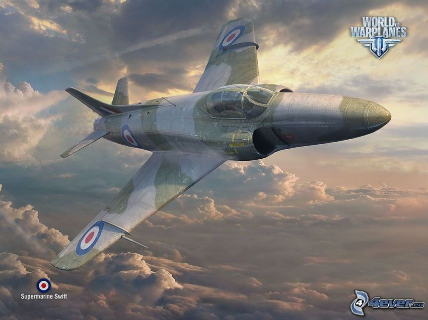 World of warplanes, ovanför molnen