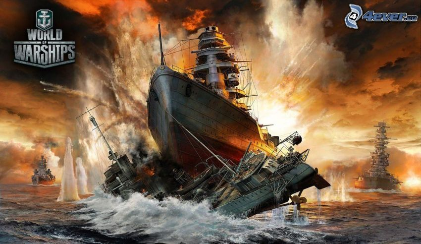 World of Warships, krasch