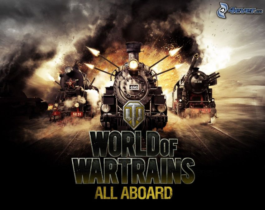 World of Wartrains, tåg, explosion