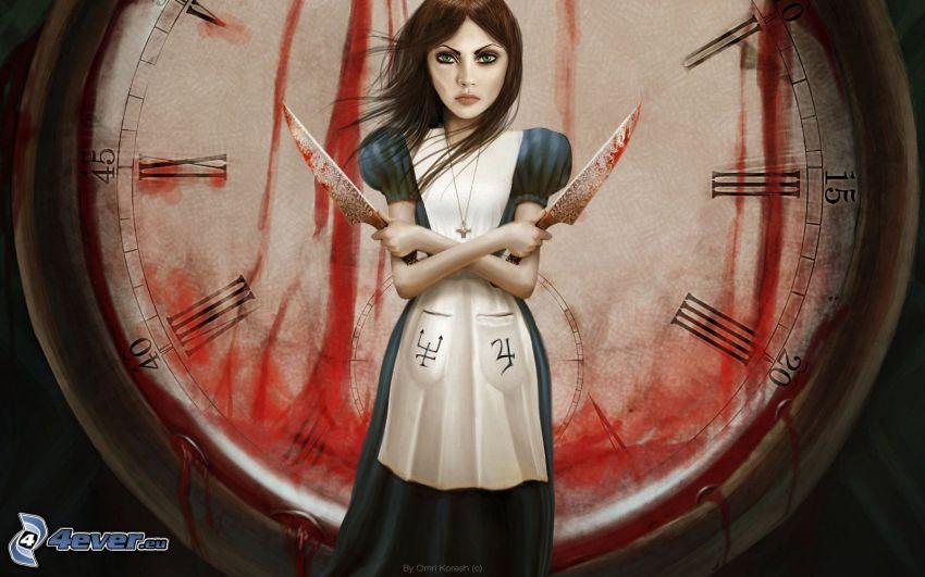 Alice: Madness Returns, klocka