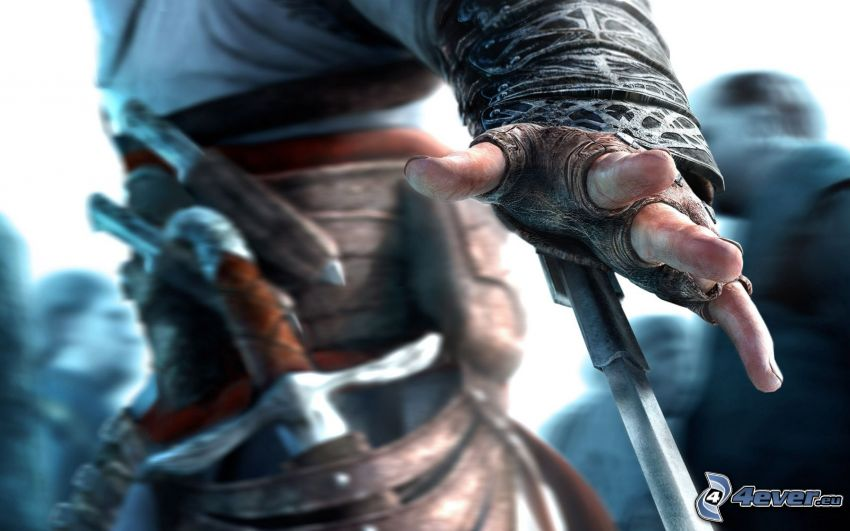 Assassin's Creed, hand