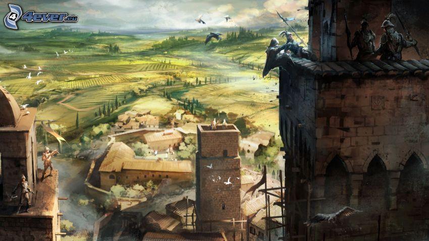 Assassin's Creed, medeltiden