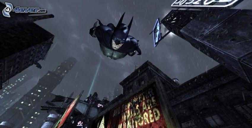 Batman, byggnader