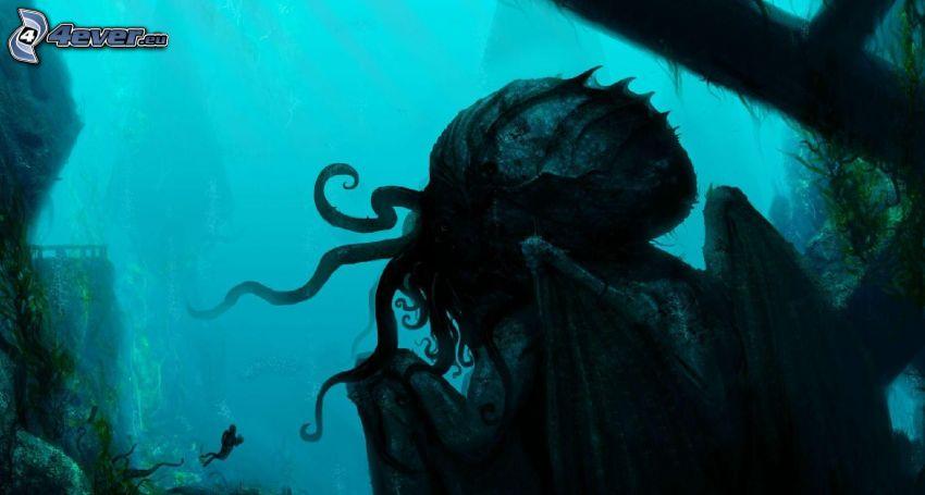 Call of Cthulhu, bläckfisk