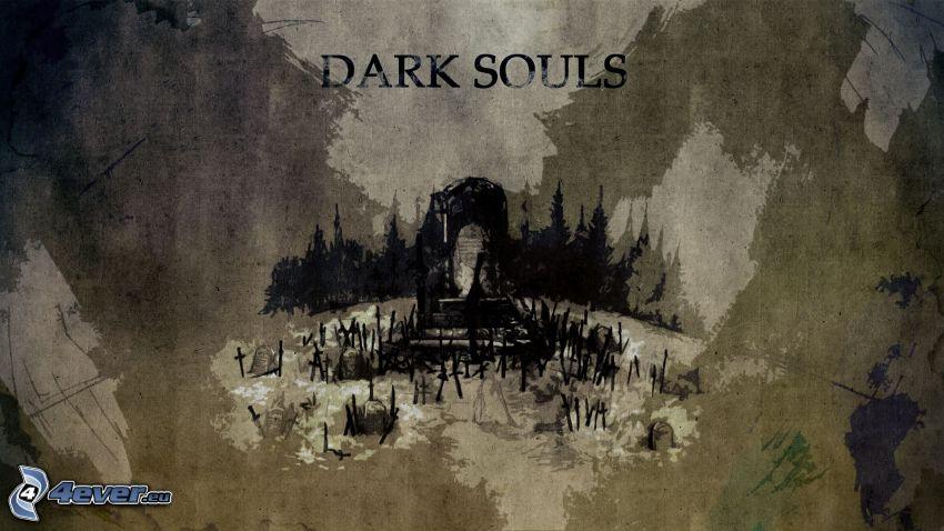 Dark Souls, grav