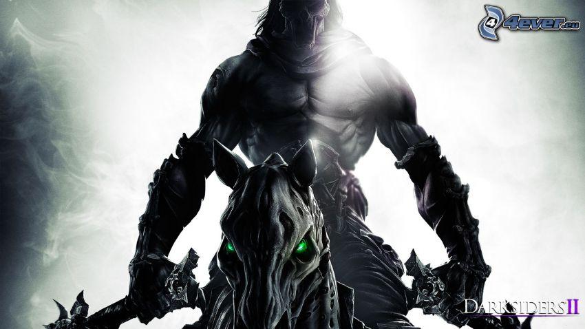 Darksiders II, mörk krigare