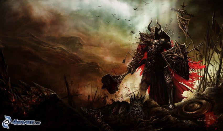 Diablo 3, mörk krigare