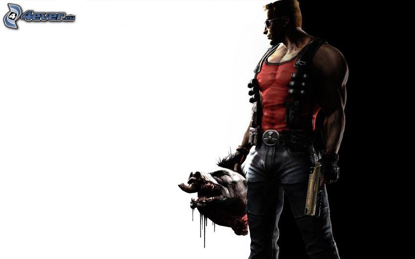Duke Nukem Forever, man med vapen