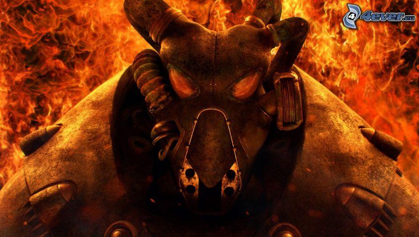 Fallout 3 - Wasteland, demon, eld