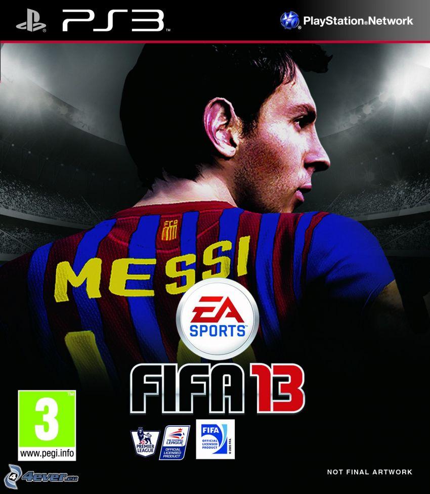 FIFA 13, PS3, Messi