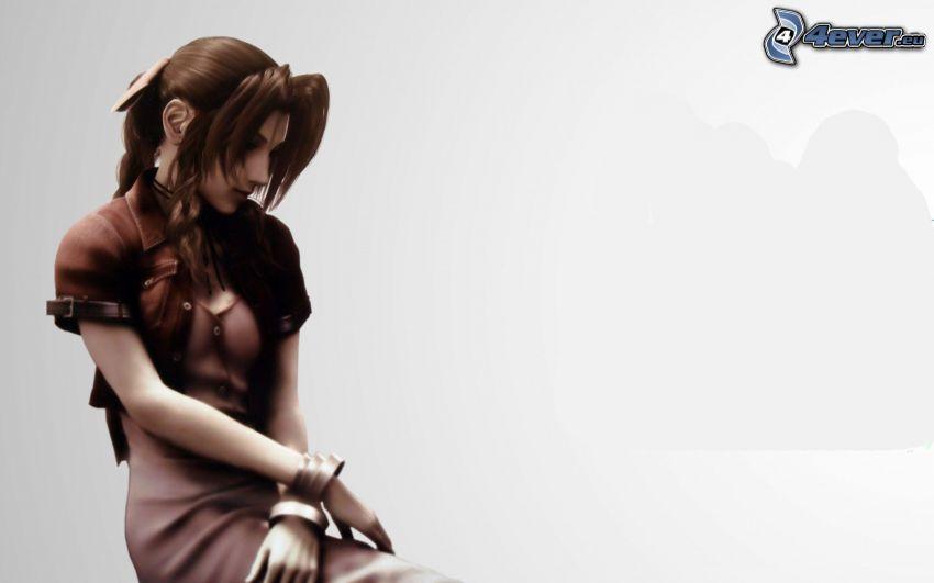 Final Fantasy VII, fantasy tjej