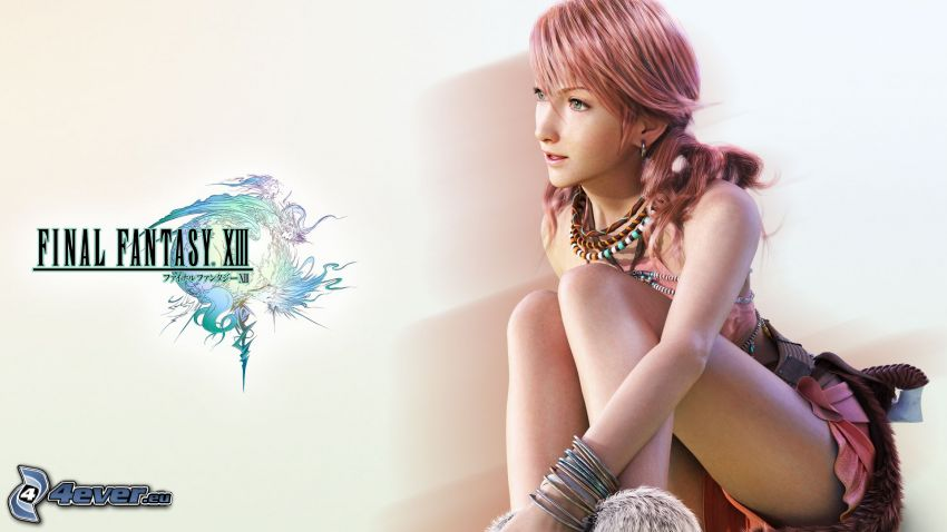 Final Fantasy XIII, fantasy tjej