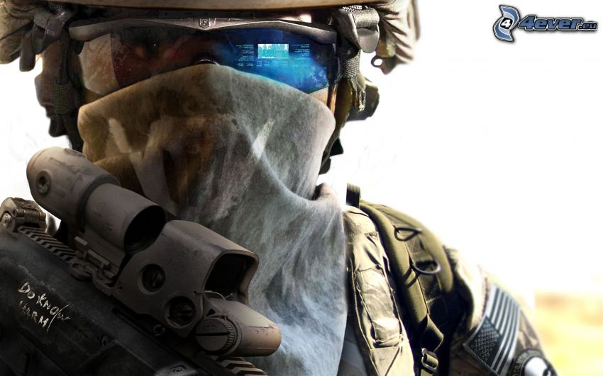 Ghost Recon: Future Soldier, sci-fi soldat