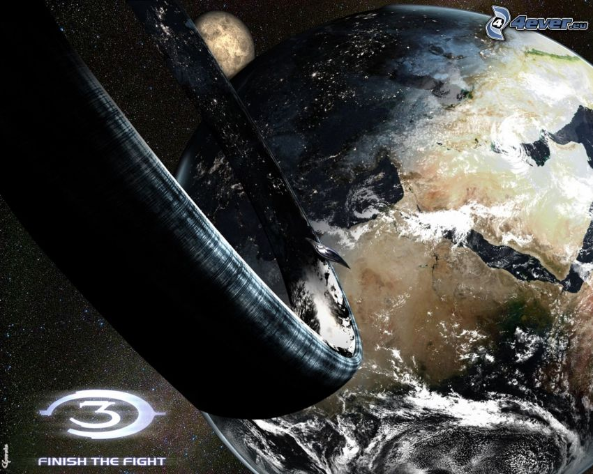 Halo, planeten Jorden
