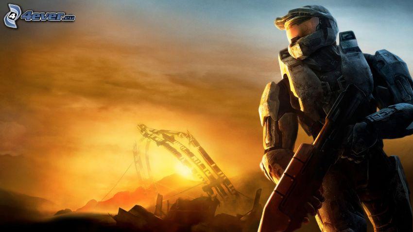 Halo 3: ODST, sci-fi soldat
