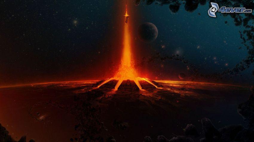 Halo 4, lava
