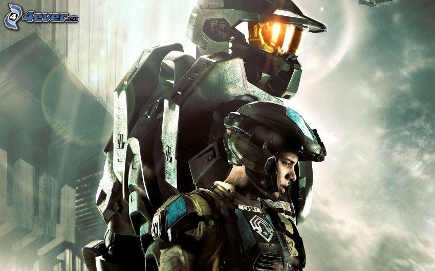 Halo 4, sci-fi soldat