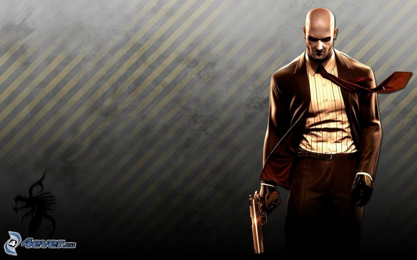 Hitman: Absolution, man med vapen