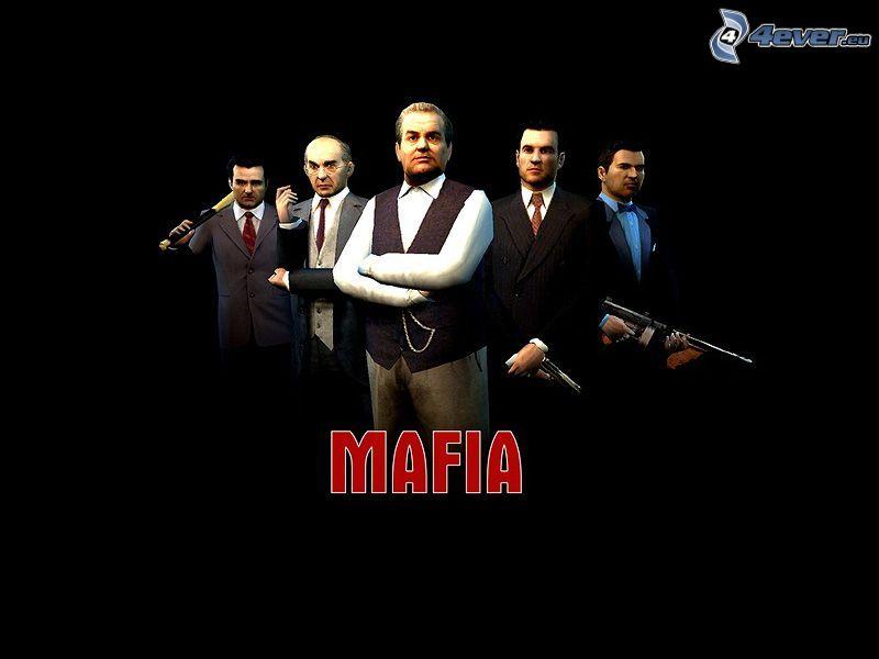Mafia, spel