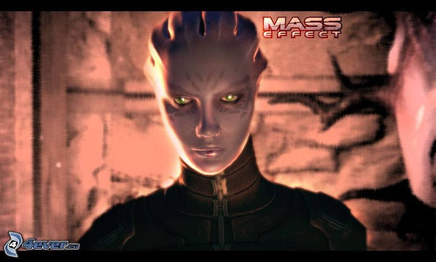 Mass Effect, anime kvinna