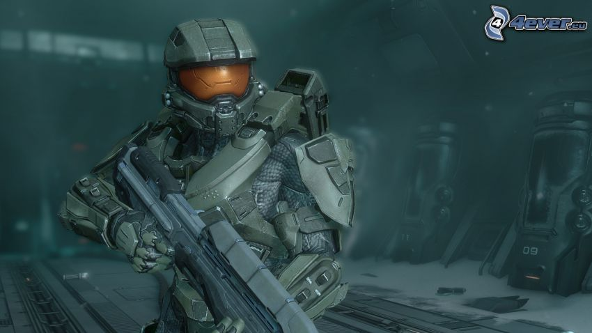 Master Chief - Halo 4, rustning