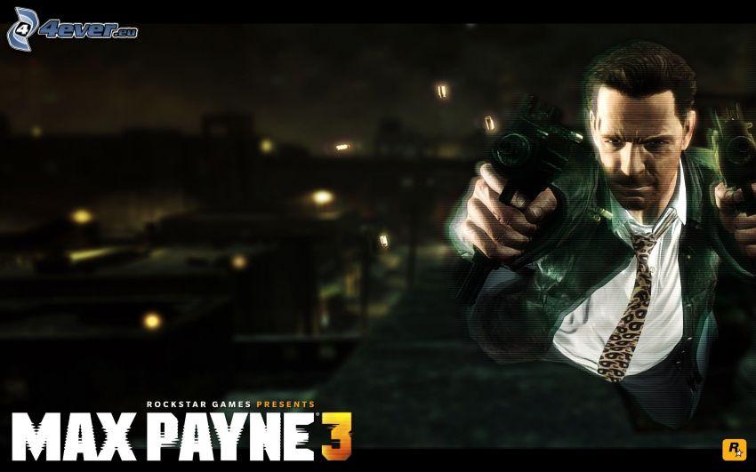 Max Payne 3, man med vapen