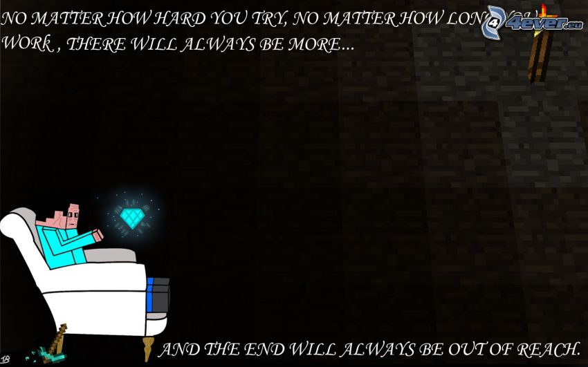 Minecraft, text