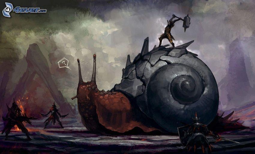 Monster Hunter, snigel