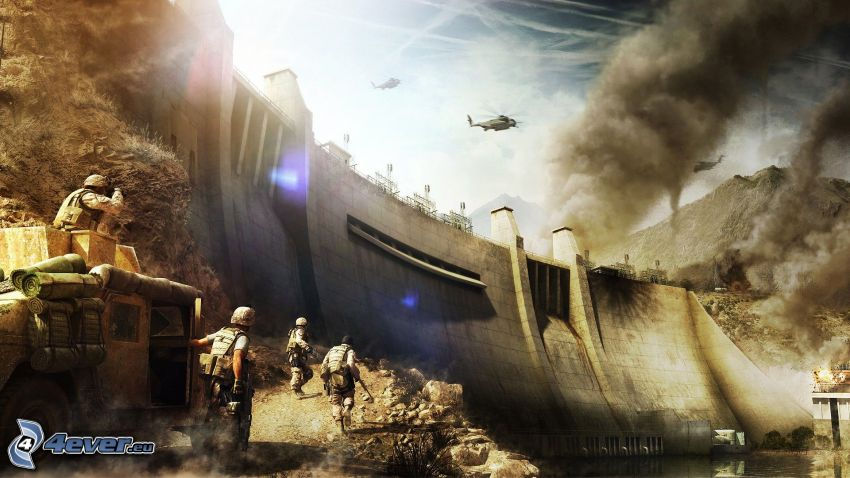 Operation Flashpoint: Red River, damm