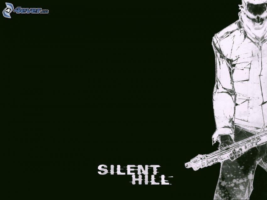 Silent Hill, man med vapen