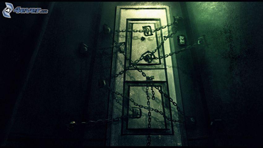 Silent Hill 4, dörr, kedjor
