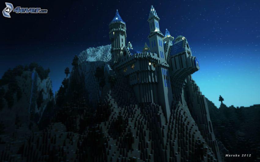 slott, Minecraft