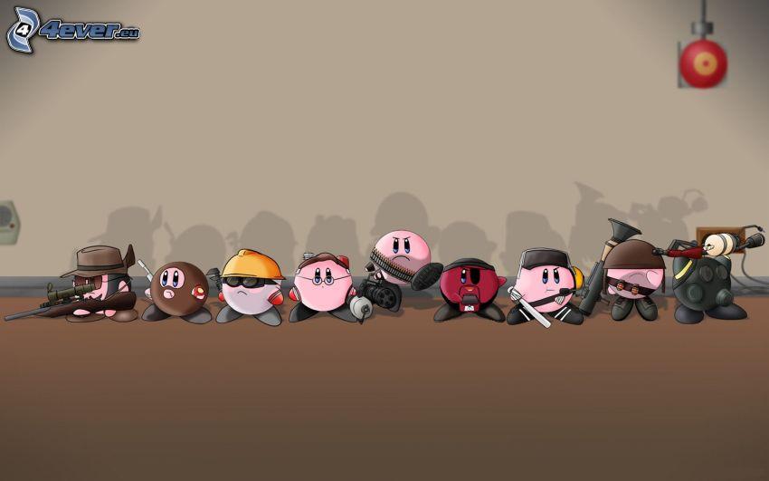Team Fortress 2, seriefigurer, krigare