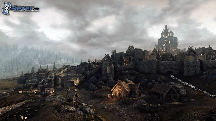 The Elder Scrolls Skyrim, by