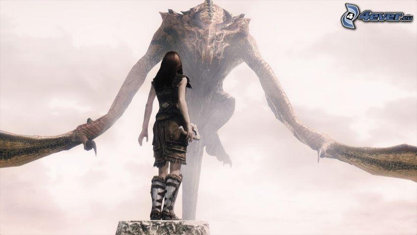 The Elder Scrolls Skyrim, monster