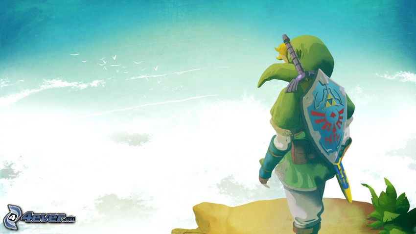 The Legend of Zelda, fantasy krigerska