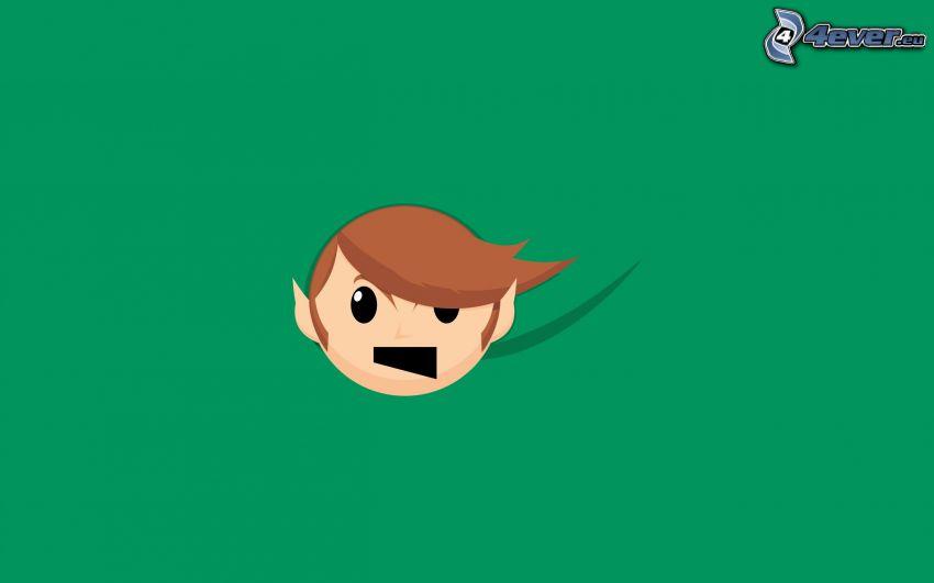 The Legend of Zelda, grön bakgrund