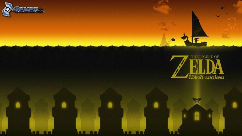 The Legend of Zelda, hav