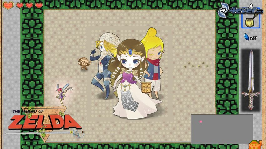 The Legend of Zelda, seriefigurer